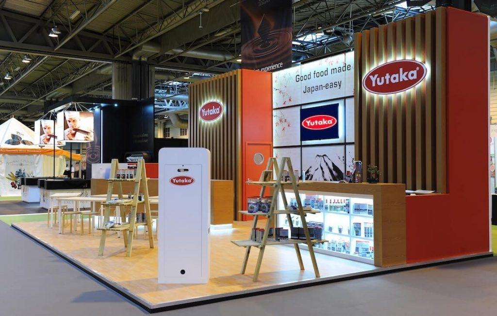 bbc good food show with Yutaka | Photo Booths for Exhibitions