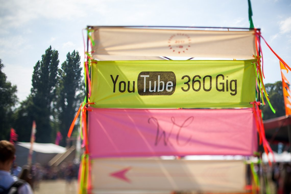 YouTube House Festival 360 gig 2