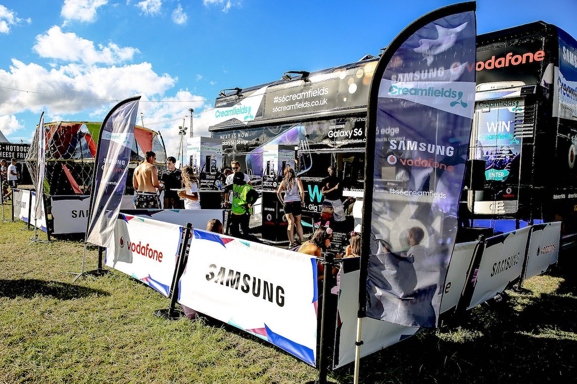 Samsung at Creamfields UK Summer Festivals 2018 Ben Picks