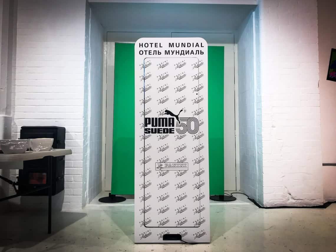 Puma Suede 50th Anniversay - Hotel Mundial