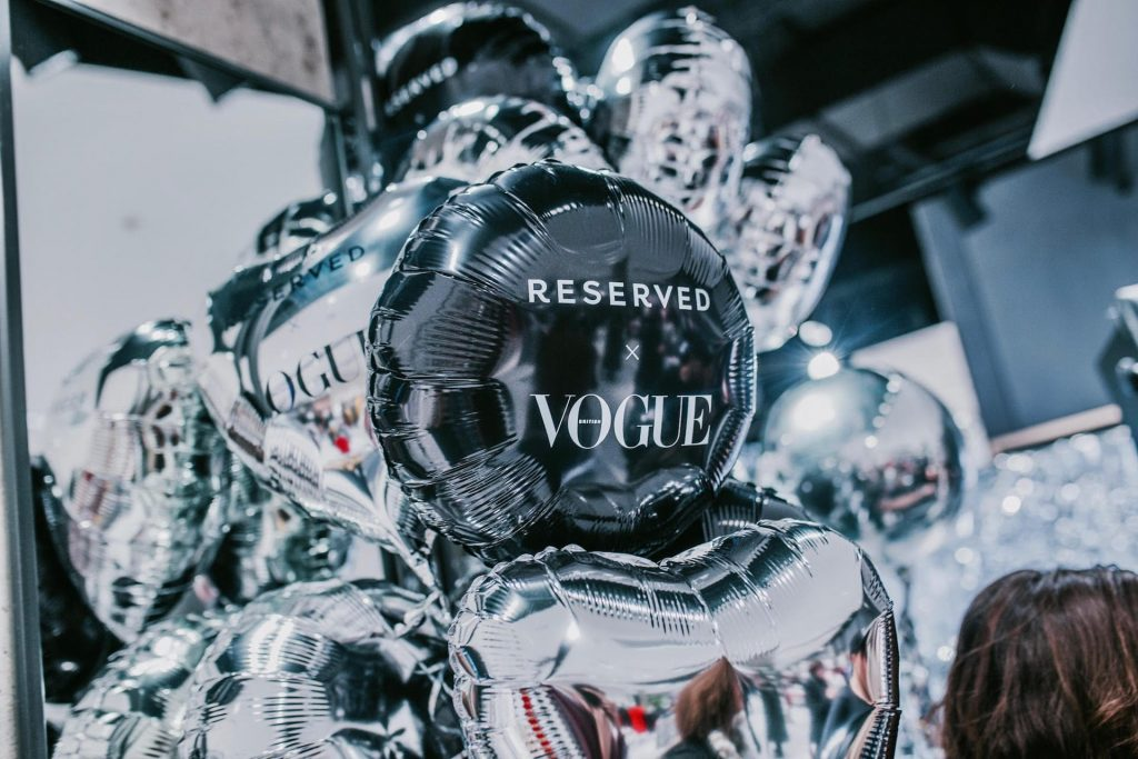 eserved x Vogue Branding